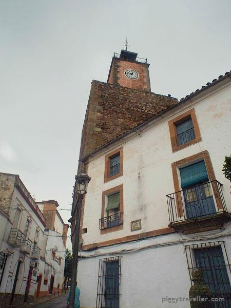 torre del reloj, alburquerque