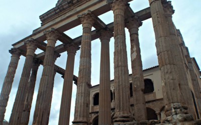 Living like a Caesar – the guy who built himself a palace in a Roman temple