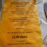 Eating in Trujillo – Restaurante La Sonata