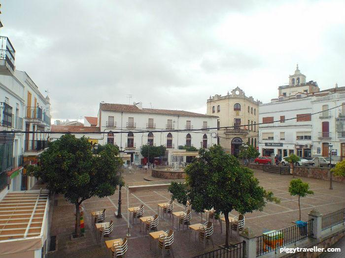 plaza de españa, alburquerque