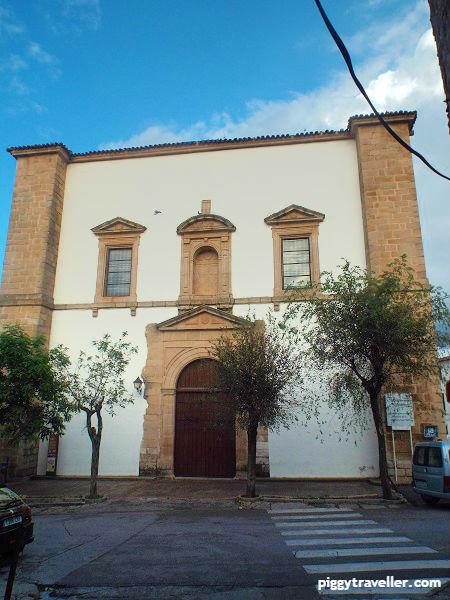 iglesia de san mateo, alburquerque