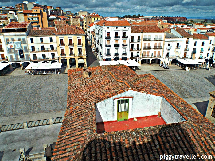 caceres square views