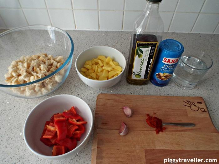 Migas ingredients