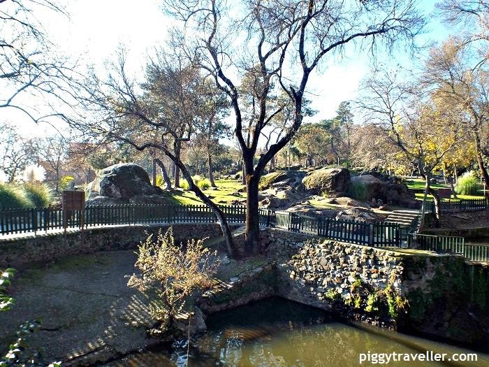 parque de los pinos