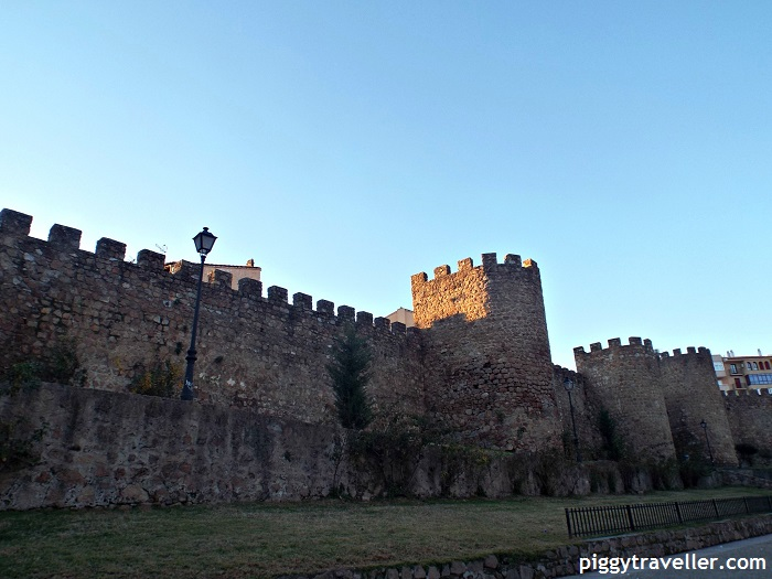 Plasencia city walls