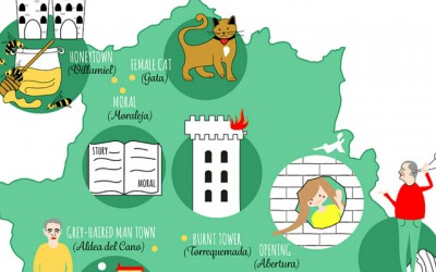 Quirky place names in Extremadura translated into English