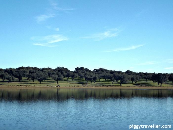 cornalvo natural park, extremadura