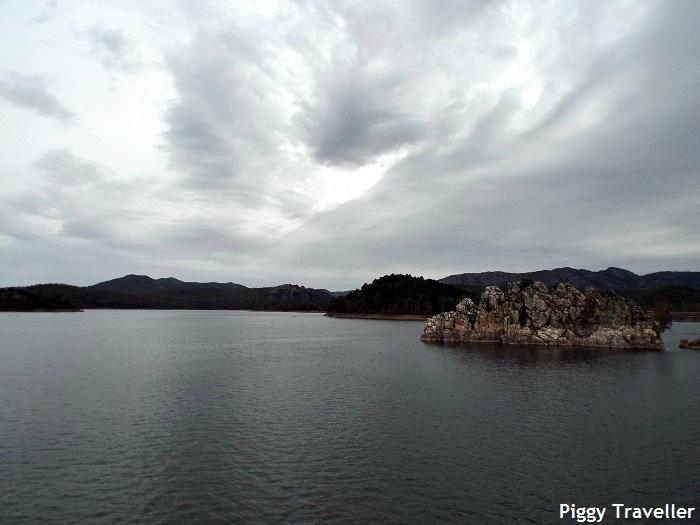 García Sola reservoir