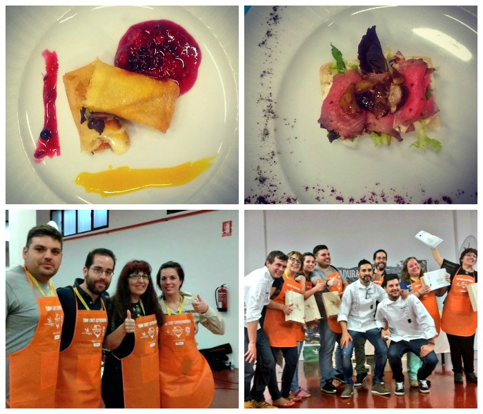 Cooking competition at TBMPlasencia