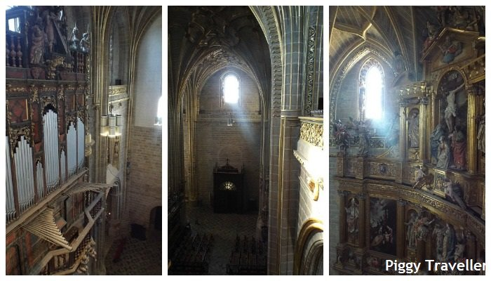 Plasencia cathedral inside