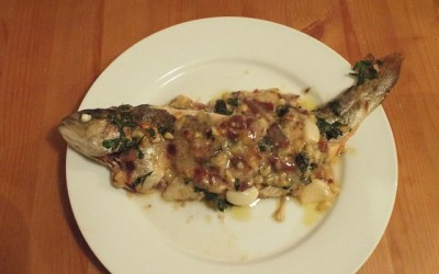 Fish recipes – Jerte-style trout