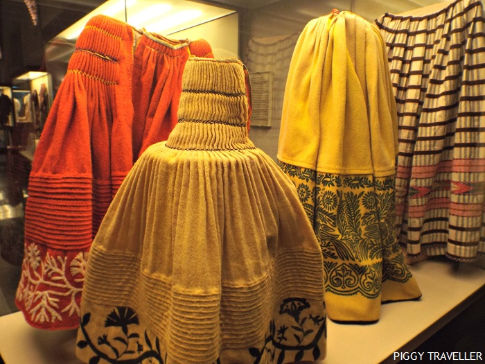 Traditional skirts