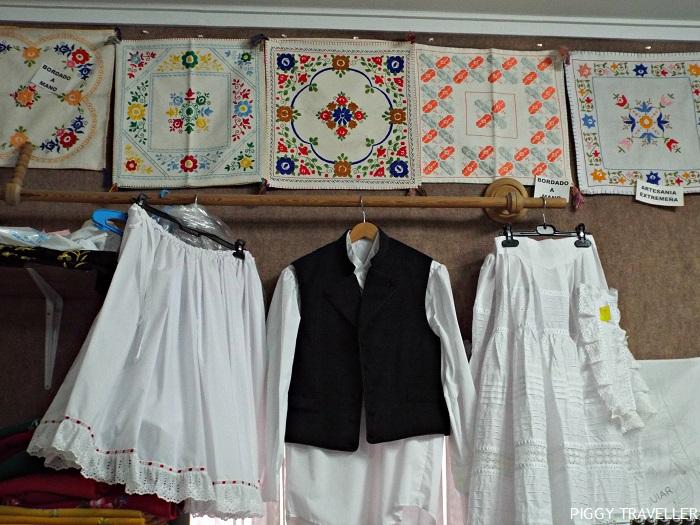 petticoats and waiscoat