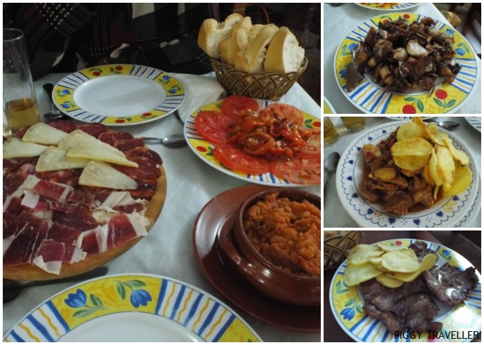 Restaurante La Posada, in Montánchez