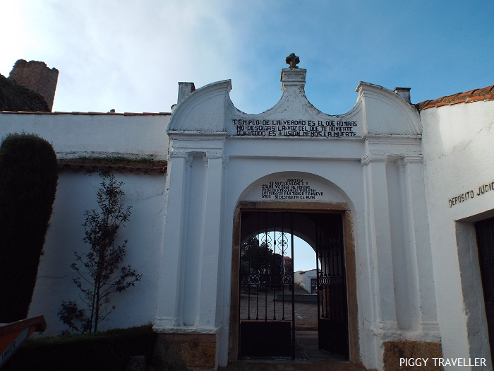 Montánchez cemetery, Extremadura