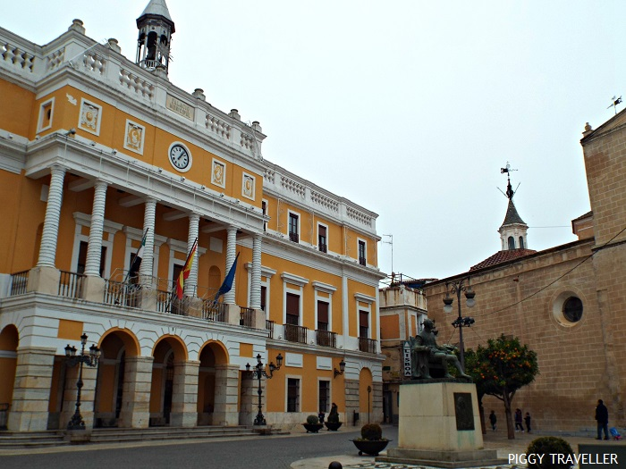 City hall, Badajoz