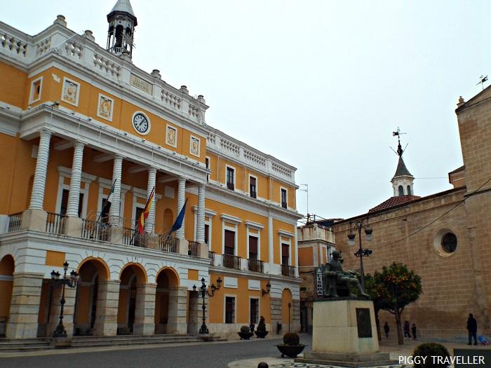 City hall, Badajoz