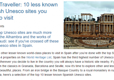 10 less known Spanish Unesco sites you need to visit