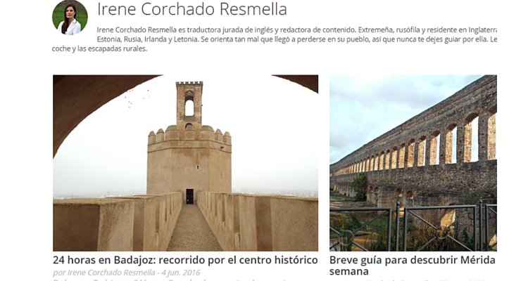 Extremadura blog posts for Vacaciones-España.es