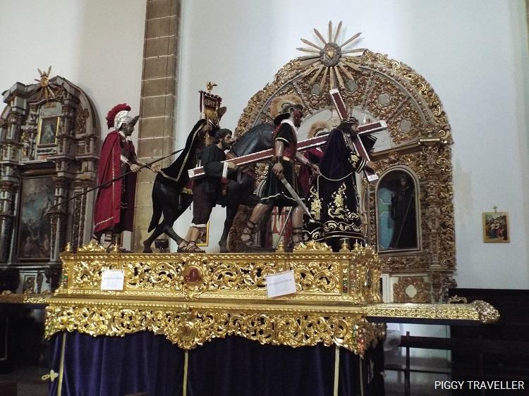 Santa Maria church statue, Jerez de los Caballeros, Extremadura