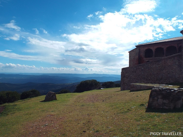 extremadura countryside, tentudia monastery