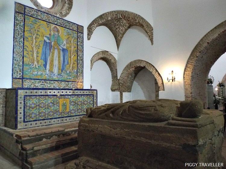 funeral chapel, tentudia monastery, extremadura