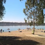 Swimming in Extremadura: the Orellana reservoir