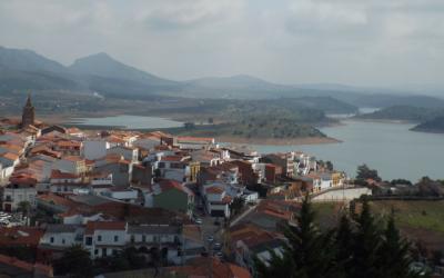 Extremadura castles: views from castillo de Alange