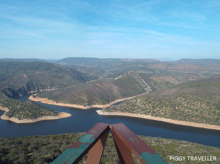 River Tagus from the keep - Monfrague National Park, Extremadura