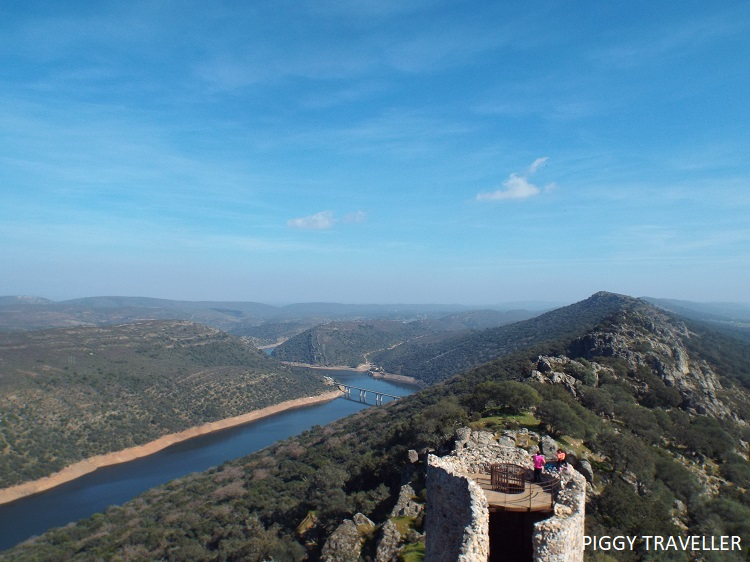 Views from the keep - Monfrague National Park, Extremadura