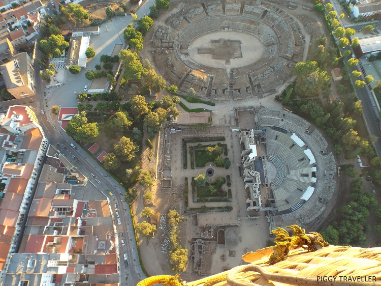 Merida Roman theatre and amphitheatre, Extremadura