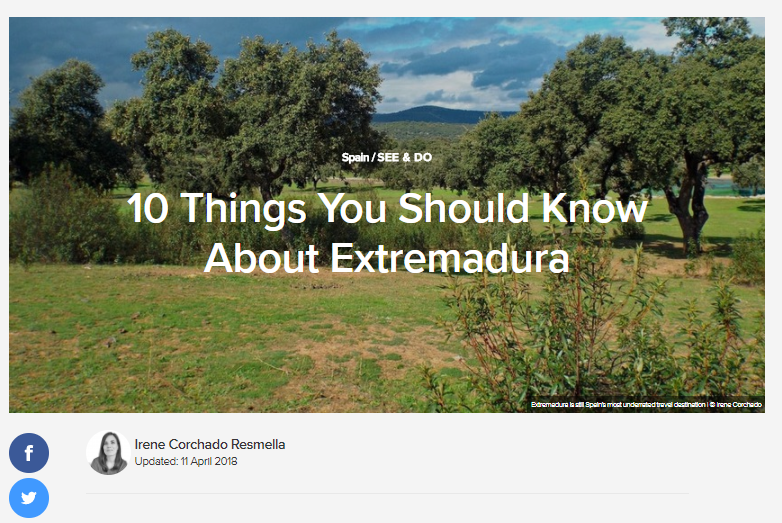 10 Things You Should Know About Extremadura