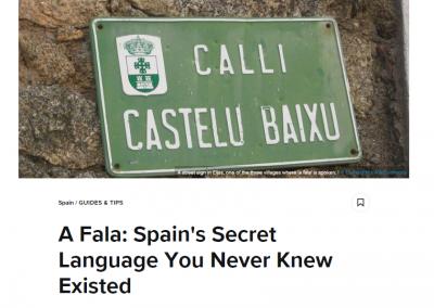 A Fala: Spain's Secret Language You Never Knew Existed