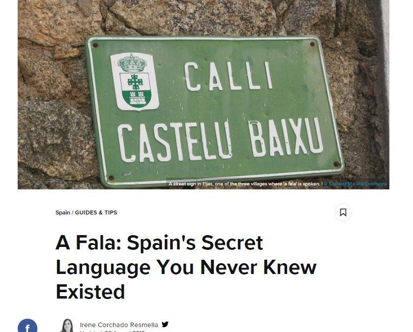 A Fala: Spain's Secret Language You Never Knew Existed