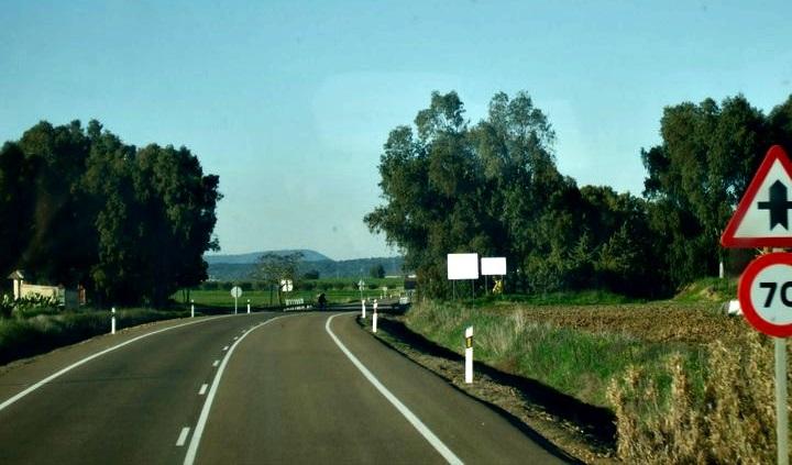 Extremadura road
