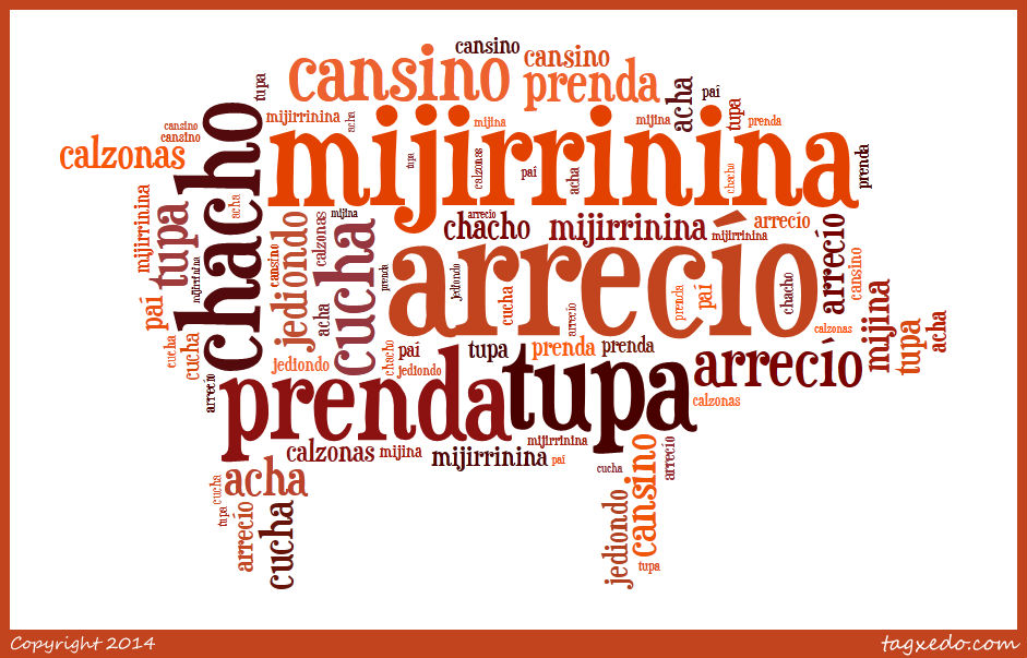 spanish words from extremadura
