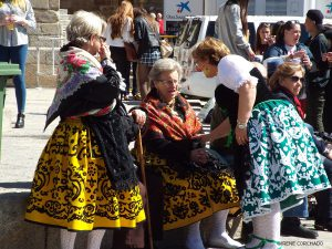 Chiviri celebrations, Trujillo, Spain