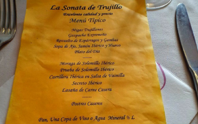 Eating in Trujillo – Restaurante La Sonata