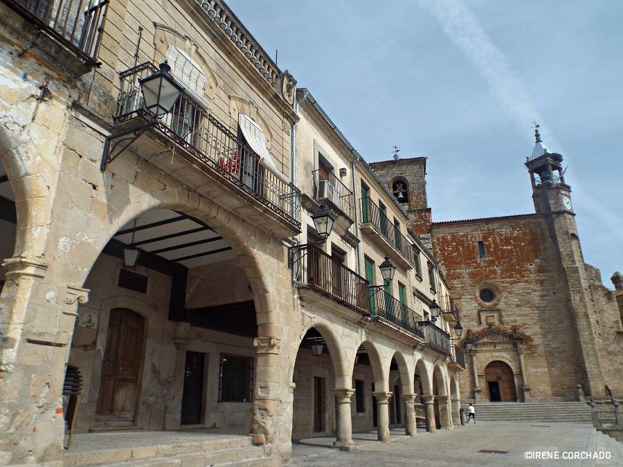 Plaza Mayor, Trujillo, Spain 2