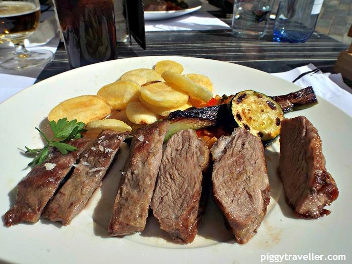Iberian pork presa