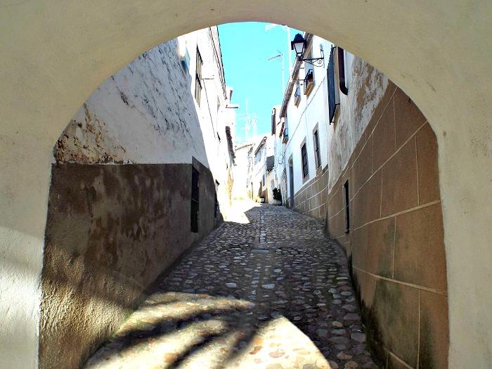 Alcantara Jewish neighbourhood