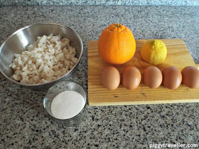 Repapalos, ingredients