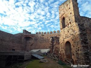 Puebla de Alcocer castle. Stand