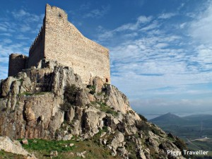 Puebla de Alcocer castle, Extremadura.