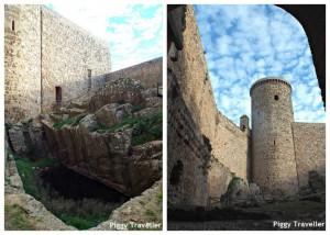 Puebla de Alcocer. Inside the castle