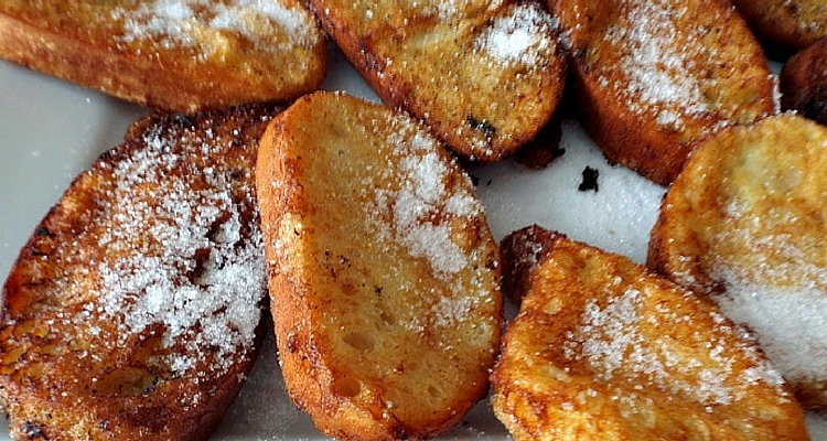 Easter recipe: torrijas