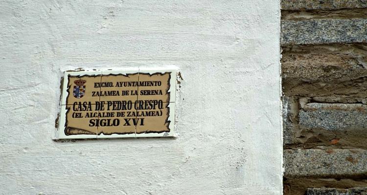 Zalamea de la Serena and Spain's most famous mayor