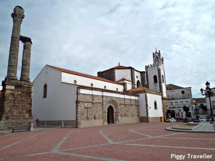 square, Zalamea de la Serena