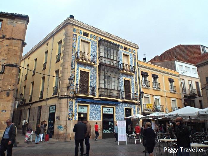 City centre, Cáceres