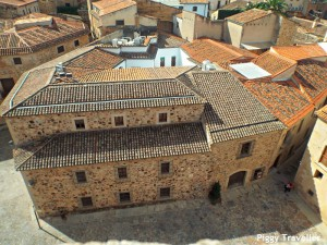Cáceres' city centre